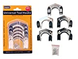 5PC Universal Tool Hooks Size: 2.75'' x 1.5'' x 2.25'' , Case of 72