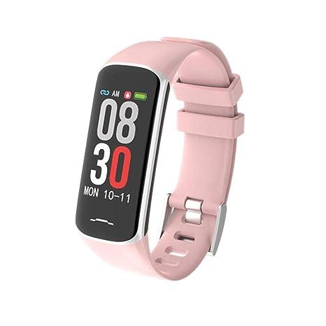Purebesi Pulsera Inteligente Mujer Los Hombres Brazalete Deportivo Pulsera Inteligent Reloj Impermeable IP67 presión Arterial Ritmo