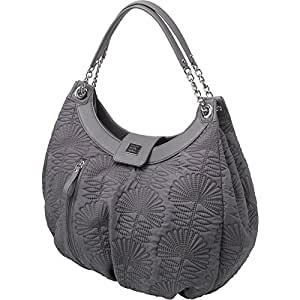 3a9be8757489 Amazon.com   Petunia Pickle Bottom Hideaway Hobo Diaper Bag in Champs-Elysees  Stop   Baby