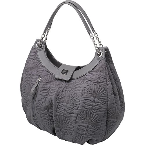 Petunia Pickle Bottom Hideaway Hobo Diaper Bag in Champs-Elysees Stop Hide Hobo