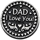Cathedral Art Dad Pocket Token, 1-Inch