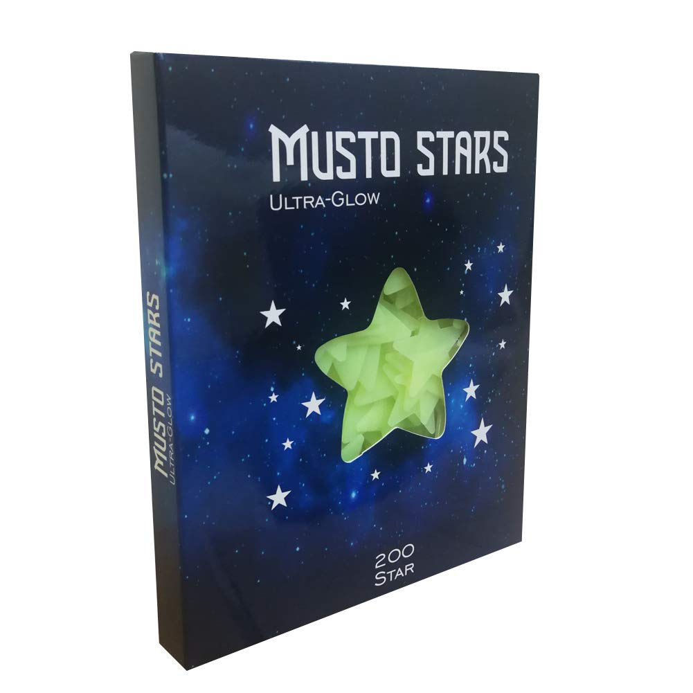 Glow in The Dark Stars is Wall Decals for Kids Rooms.Glow in The Dark Stars for Ceiling. 200pcs Stars for Ceiling.Ceiling Stars.