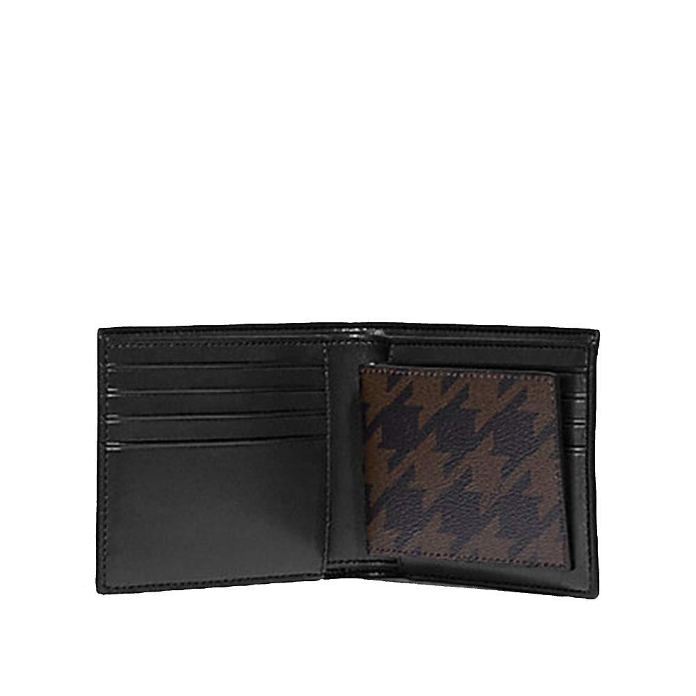 バレンタインのプレゼントに!メンズCOACH 二つ折り財布&キーホルダー&パスケース 3点セット 専用ギフトBOX付き F37885 就職、進学祝い
