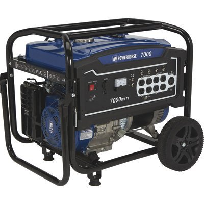 Powerhorse mobile Generator - 7000 Surge Watts, 5500 Rated Watts, EPA Compliant Review