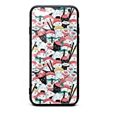 Phone Case for iPhone 6Plus/6SPlus Kawaii Sushi Crowd Japanese Food Rice Fish Cotton Fabric TPU Gel Full Protective Cool Anti-Scratch Fashionable Glossy Anti Slip Thin Shockproof Soft Case