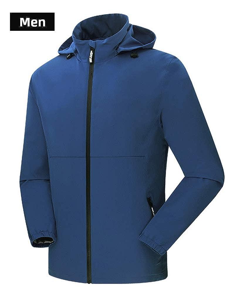 AURNEW Men/&Women Lightweight Waterproof Rain Jacket
