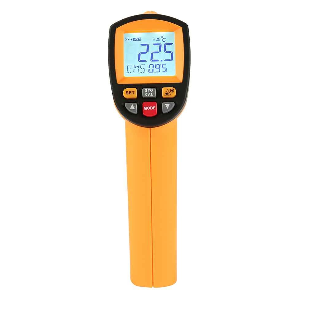 GM1150 -50 ~ 1150℃ Non-contact Infrared Thermometer -58~2102℉ Handheld Pyrometer IR Temperature Meter with LCD Backlight by dianpo (Image #3)
