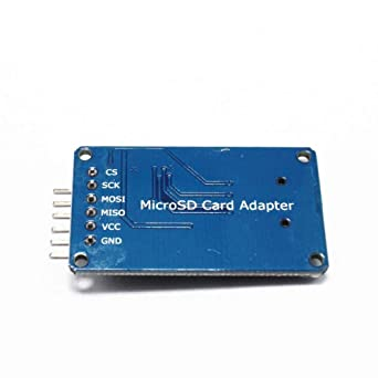 10pcs//lot Micro SD Card Mini TF Card Reader-Module SPI interfaces with Level Converter chip