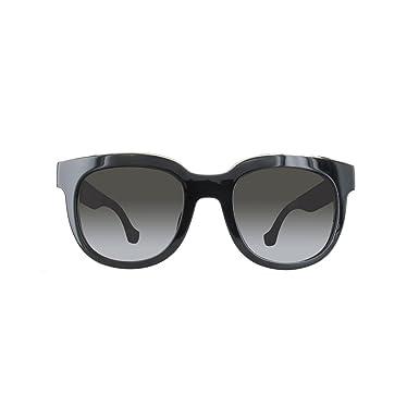 8bd04ab5f4c29c Balenciaga Lunettes de soleil femme BA0060F shiny black gradient smoke