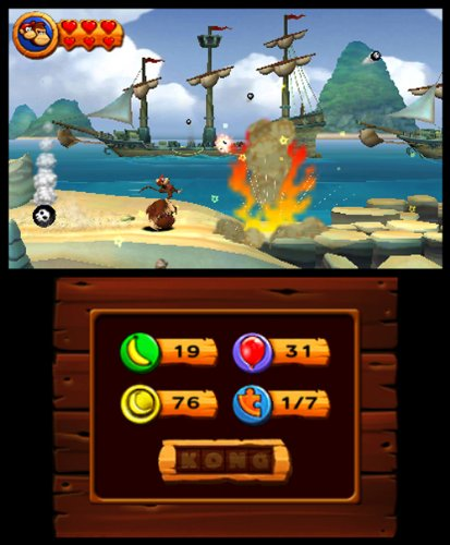 Nintendo selecciona: Donkey Kong Country Returns 3D