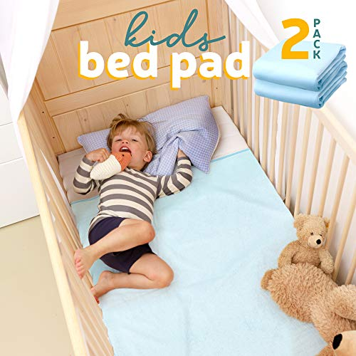 Kids Bed Pad - Waterproof Mattress Protector 47