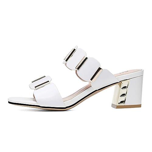 De Nuevas Zapatillas Mujer Y Punta Dyfymx Las Sandalias Abierta P0w8Okn