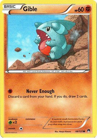 Pokemon - Gible (68/122) - XY Breakpoint