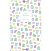 Stationery Notebook - Ruled Pages - Premium: White Edition - Fun notebook / jotter with 96 ruled / lined pages - A5 / 5x8 inches / 12.7x20.3cm / Junior Legal Pad