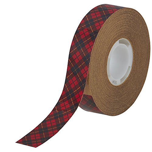 924 Adhesive Transfer Tape - 3M 924-3/4 Adhesive Transfer Tape Roll for Scotch Tape Gun, 3/4 Wide x36 Yards