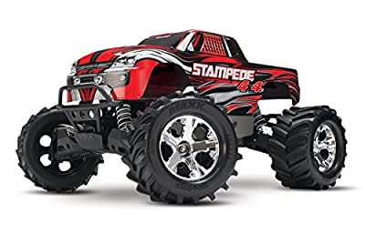 Traxxas Stampede 4X4: Monster Truck, Ready-To-Race (1/10 Scale)