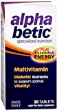alpha betic Multi-Vitamin Caplets 30 Caplets (Pack of 12)