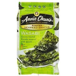 Annie Chun's Snack-Seaweed/Wasabi, 0.35 oz