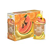 Happy Baby Clearly Crafted Organic Baby Food Stage 2, Bananas Sweet Potatoes & Papayas, 4 Ounce, 16 Count