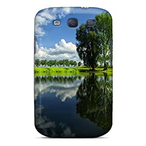 Hot Snap-on Tree Lake Hard Cover Case/ Protective Case For Galaxy S3