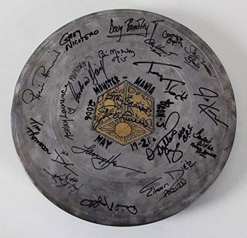 - 2006 Monster Mania Con 5 Signed Film Canister - Browning, Bradley, etc. - COA JSA