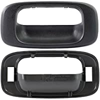 MAPM - Textured Black Tailgate Door Handle Bezel For...
