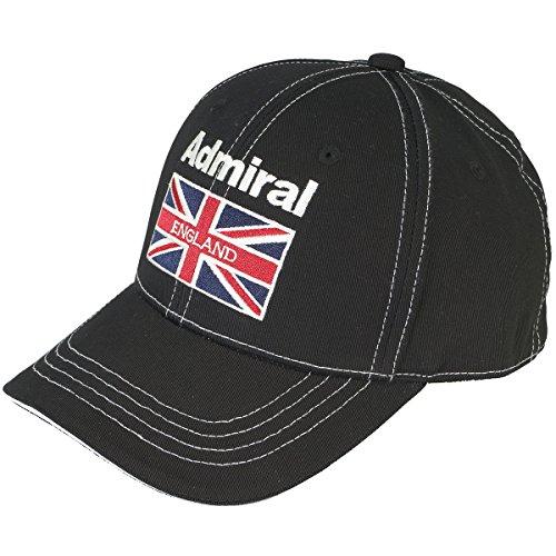 アドミラル Admiral 帽子 キャップ ADMB601F ブラック 10 フリー