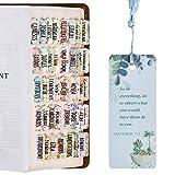 Laminated Bible Tabs, Bible Journaling