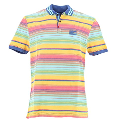 Napapijri EDINA FANTASYF75 Polo Multicolor M - Stores Edina