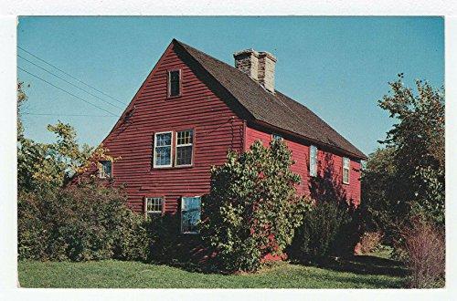The Acadian House, Guilford, Connecticut Vintage Original Postcard #3625 - July, 7, ()