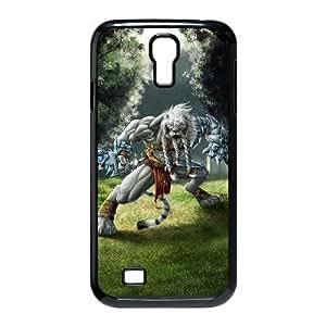 STR5-Custom Phone Case Lion Warrior For Samsung Galaxy S4 I9500