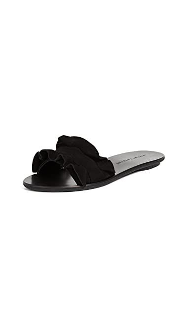 d5df437a0307 Amazon.com  Loeffler Randall Women s Birdie Ruffle Slides  Shoes