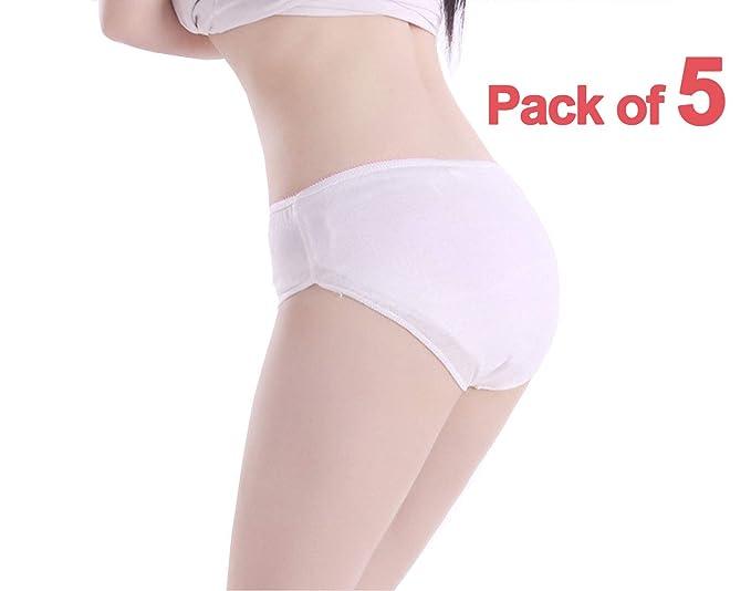073ea14648e7 Nihao Disposable Maternity Women's Cotton Panties Hipster Briefs ...