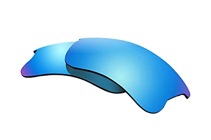 151166375d Image Unavailable. Image not available for. Color  BVANQ Polarized Lens  Replacement for Oakley Flak Jacket XLJ Sunglasses ...