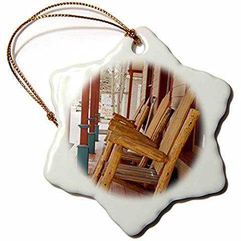Ornaments to Paint Danita Delimont - Colorado - USA, Colorado, Crested Butte, rocking chairs - US WBI3 - Walter Bibikow (Packers Rocking Chair)