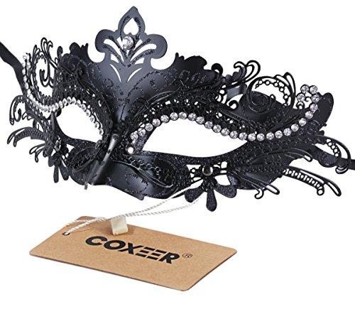 Coxeer Masquerade Halloween Princess Venetian