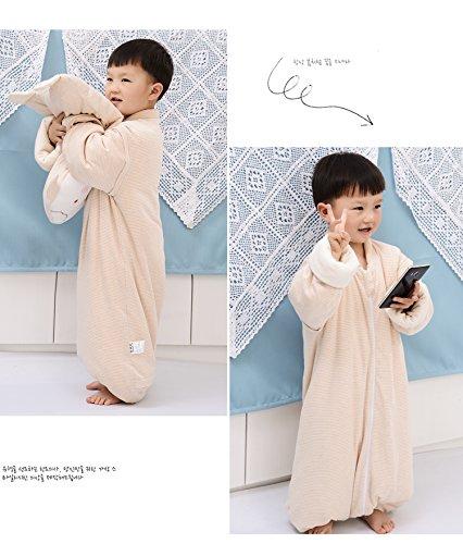 Silk SleepSacks Baby Sleeping Bag Kids' Sleep Nest (1.8'-3') by Jinqilu (Image #3)