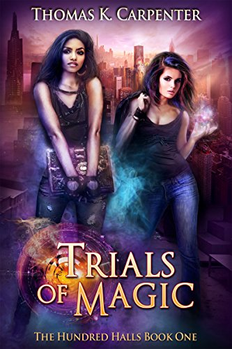 Trials of Magic (The Hundred Halls Book 1) cover