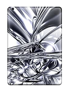 jody grady's Shop 2071425K55047144 Protective Tpu Case With Fashion Design For Ipad Air (silver)