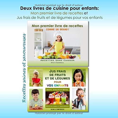 Deux Livres De Cuisine Pour Enfants Mon Premier Livre De