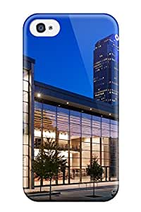 Ultra Slim Fit Hard CaseyKBrown Case Cover Specially Made For Iphone 4/4s- Dallas City