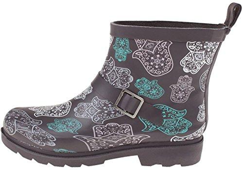 Capelli Printed New Lace Ladies Short Umbrella York Grey Boot Rain I46Iwarqx