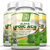 BRI Nutrition Alpha Lipoic Acid Softgels - 3-Pack 300mg Fast Absorption Liquid Softgels
