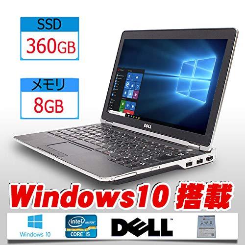 【新品SSD 360GB搭載】【Windows10搭載】DELL LATITUDE E6230※Core i5-3340M 2.7GHz/8GBメモリ/ 12.5型ワイド/WiFi【最新版Office、新品無線マウス】中古パソコン B07NW27CJP, 岩瀬村 ce902fd7