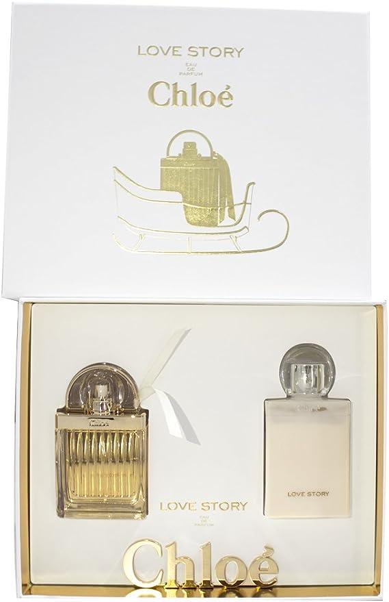 Set perfume de mujer Chloé Love Story (eau de parfum + loción ...