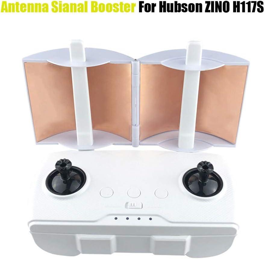 Parabolic Antenna Extender Kompatibel mit Hubson ZINO H117S Alecony Fernbedienung Signal Booster Range Extender mit Tragetasche Signalverst/ärker Antennenverst/ärker