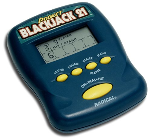 Pocket Blackjack 21 Electronic Handheld Game (1997 Edition)