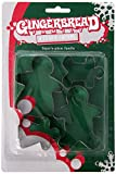 Fox Run 3553 Gingerbread Family Cookie Cutter Set, Stainless Steel, 4-Piece