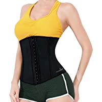 Majestic Sculpture Latex Waist Trainer Women | Corset Top Body Shaper | Underbust Corset |Weight Vest Sport Girdle…