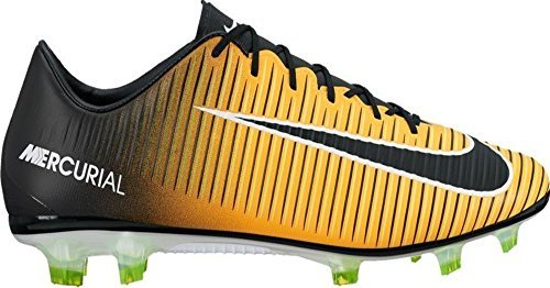 fac01583f Galleon - Nike Men's Mercurial Veloce III FG Soccer Cleat - (Laser Orange/ Black/White) (6.5)